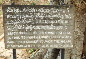 Cambodia-killing-fields-loudspeaker-sign