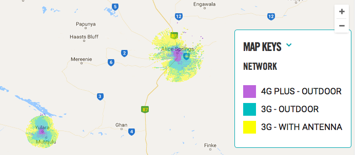 Buying-SIM-card-Australia-Optus-coverage-map