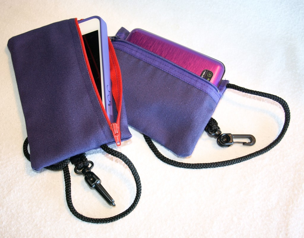 pouches to attach inside pockets