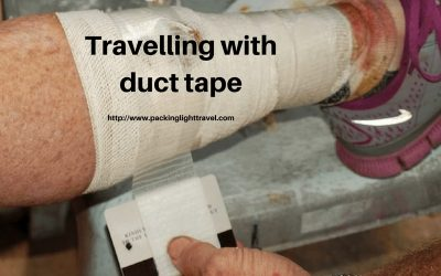 Travelling with duct tape