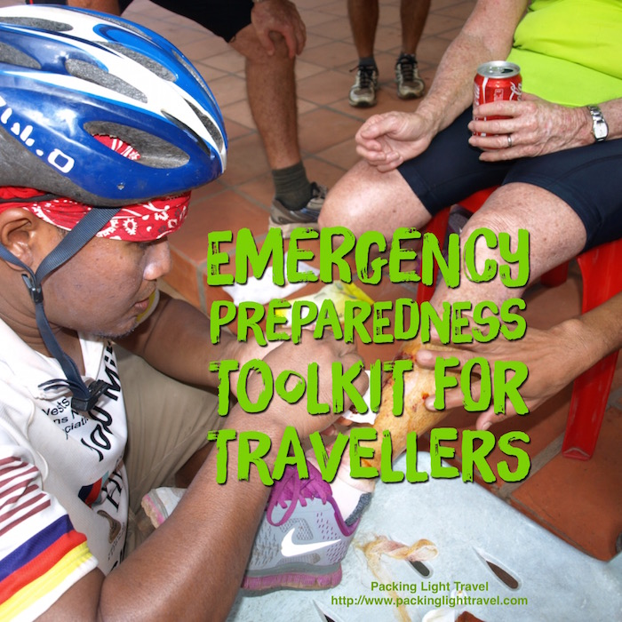 Emergency preparedness toolkit for travellers