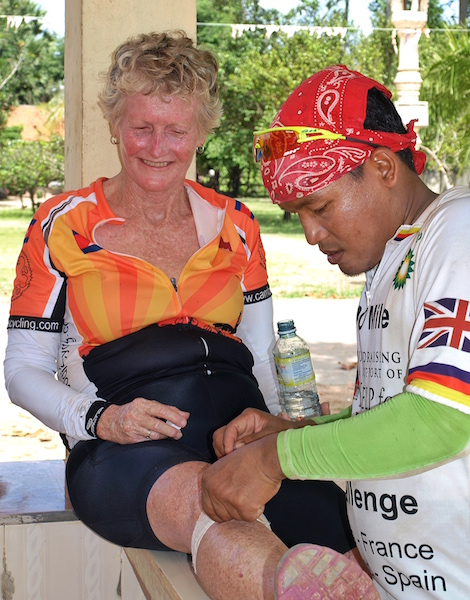 Cambodia-cycling-first-aid