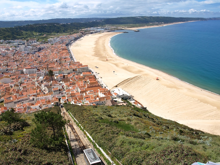 Nazare-Portugal-from-Sitio