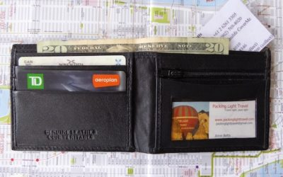 What's in your travel wallet?