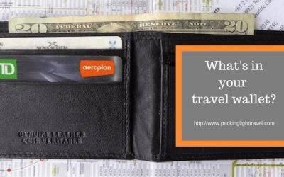 What's in your travel wallet? 12 Tips for keeping your stuff safe.