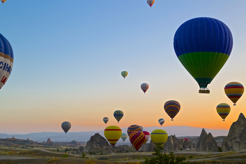 ballooning-in-Ccappadocia-at dawn