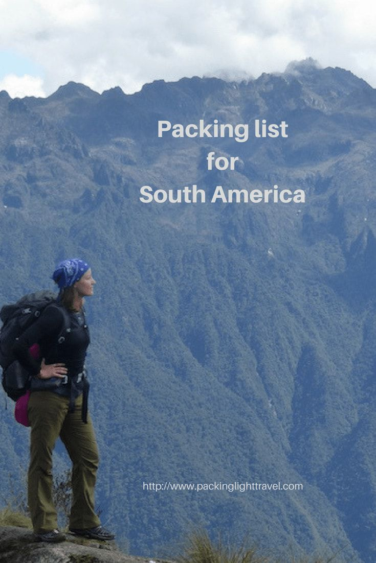packing-list-South-America