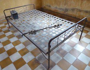Cambodia-torture-bed-S-21