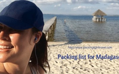 Packing list for Madagascar