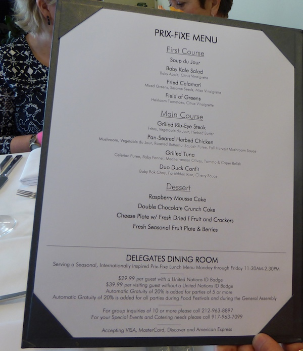 lunch-at-the-United-Nations-menu