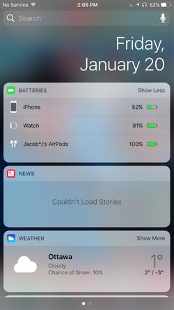 AirPods-batteries-widget-in-notifications
