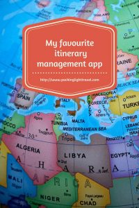 My-favourite-itinerary-management-app