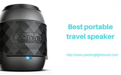 Best portable travel speaker