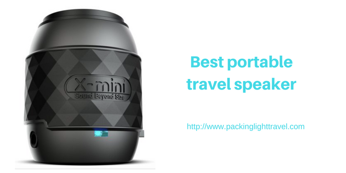 Best portable travel speaker
