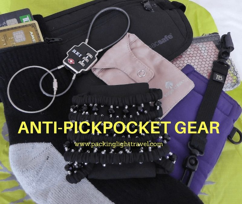 Anti-pickpocket gear