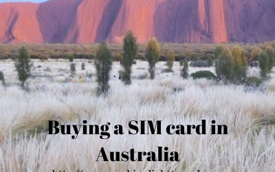 Buying a SIM Card in Australia