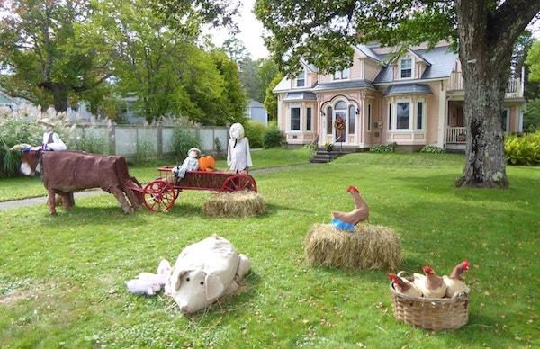 Mahone-Bay-Scarecrow-Festival-farmyard