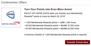 AMEX-Avios-promotion