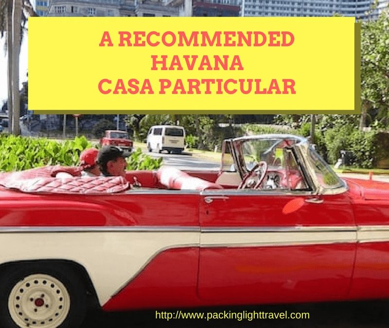 A recommended Havana casa particular
