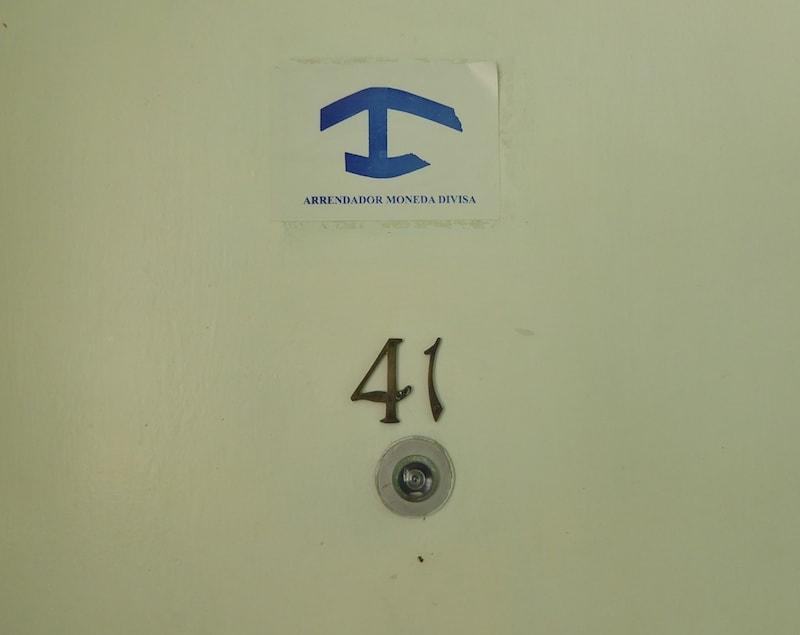 Recommended-Havana-casa-particular-door-sign