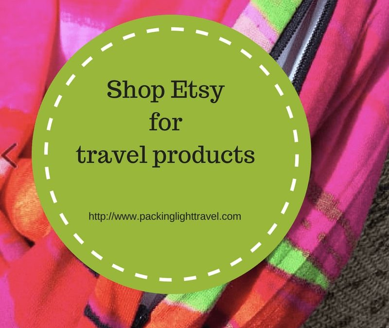 Shop Etsy for travel products