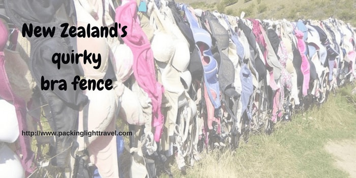New Zealand's quirky bra fence