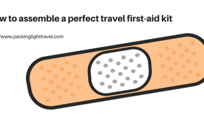 How to assemble a perfect travel first-aid kit