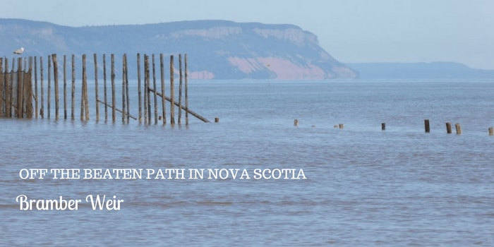 Off the beaten path in Nova Scotia at Bramber Weir