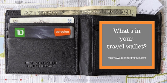 What's in your travel wallet