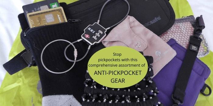 Stop pickpockets with this comprehensive assortment of anti-pickpocket gear