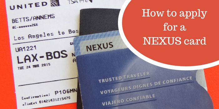 Carte Nexus Canada.How To Apply For A Nexus Card Packing Light Travel