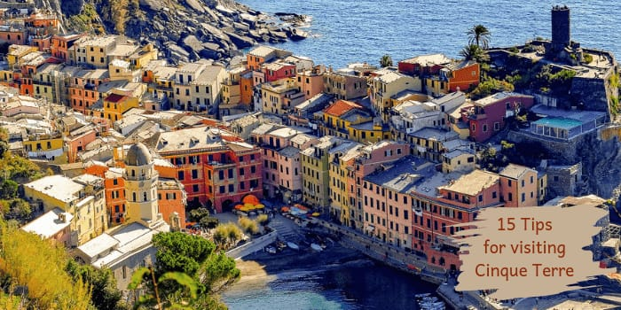 15 Tips For Visiting Cinque Terre Packing Light Travel